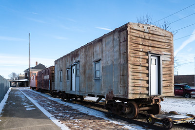 Cherokee, IA IC Bunk Car