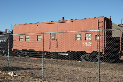 MOW bunkcar in Deming, NM