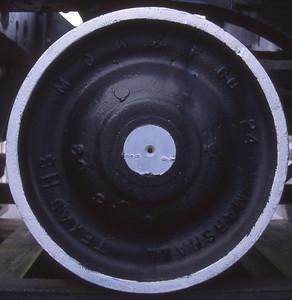 Lead truck on steam engine