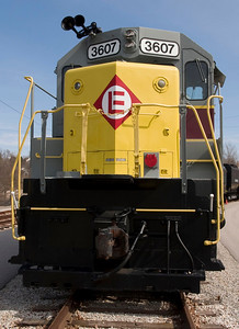 Restored Erie Lackawana diesel