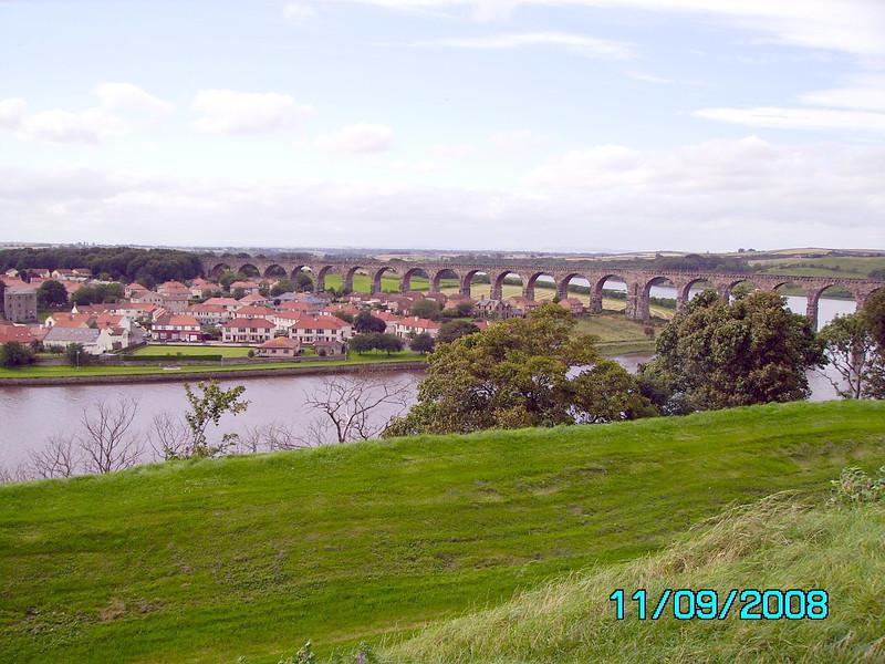 Royal Border Bridge, Berwick upon Tweed  11 09 08