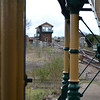 March Signal Box seen from the station through the footbridge   18/03/17