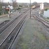 66099 1540/6T26 Immingham-Santon passes Barnetby on the last day of the Semaphores.  23/12/15