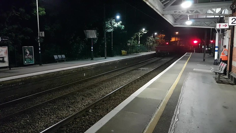 70804 Leads 70815 & 70816 0004/6o36 Whitemoor-Hoo Jct past Hertford North  26/06/17
