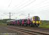 350 407 approaching Metal Bridge with the 1S40 on Monday 9th June 2014.