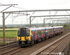 First Transpennine 350 405 coming off the bridge over the RIver Esk with the 1M94 to Manchester Airport on 9th June 2014.