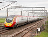 Virgin Trains Pendolino 390152 coming off the bridge with the 1M10 on 9th June.