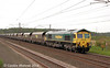 Shortly after 66192 Freightliner 66512 passed by with the 4S33 to Hunterston, 9th June.