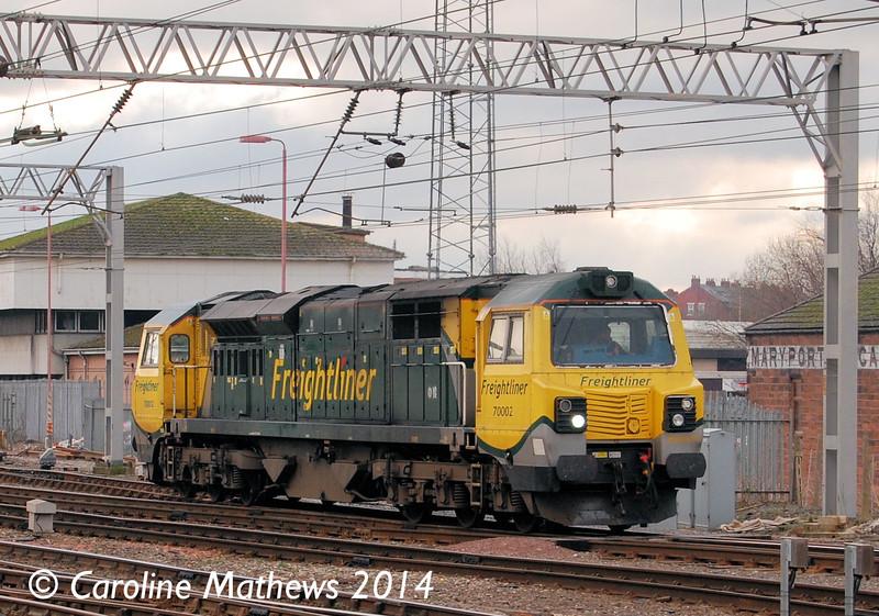 70002, Carlisle, 29th January 2014