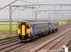 Also seen heading south off the bridge was Scotrail 156 502, 9th June 2014.