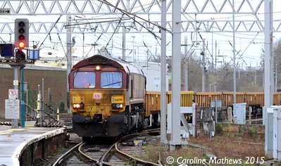 66090, 6L42, Carlisle, 11th January 2015