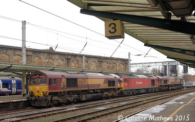 66139, 60063, 66090, 0L43, Carlisle, 11th January 2015