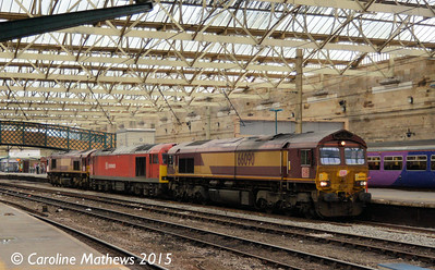 66090, 60063, 66139,  Carlisle, 0L43, 11th January 2015
