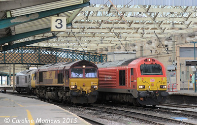 66204, 67027, 67012, Carlisle, 12th January 2015