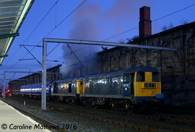 20142 and 20189 at Carlisle, 14th April 2016