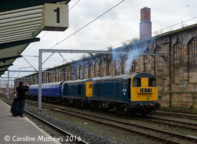 20142 and 20189, Carlisle, 15th April 2016