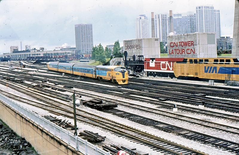 VIA 1987 Toronto Union 6 Jun 82