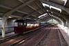 A fairly empty carriage shed at Ravenglass - Easter Monday, 13/04/09.