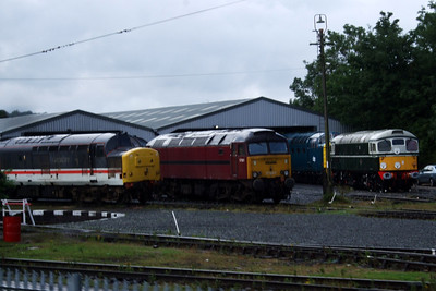 37685, 57601, 55022 Royal Scots Grey and D5310, 02/08/08.