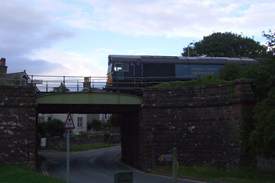 66432 on the rear of the stone train to Millom, 03/08/09.