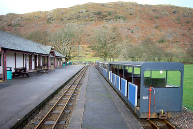 A view of Dalegarth station, 09/12/07.
