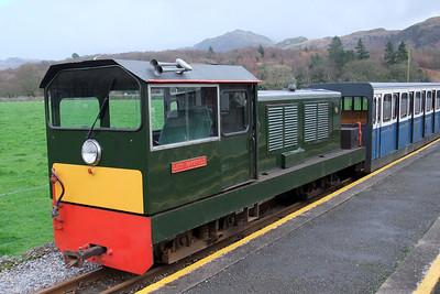 Lady Wakefield rests at Dalegarth between duties, 06/12/09.