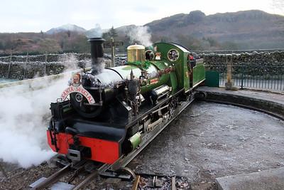 River Irt on Dalegarth turntable, 13/12/09.