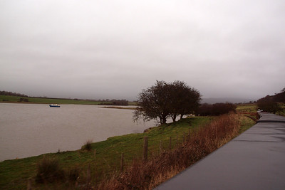 High tide on Barrow Marsh. 26/12/11.