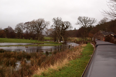 Flooded Muncaster Mill. 26/12/11.