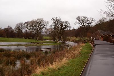 Flooded Muncaster Mill. 26/12/11.
