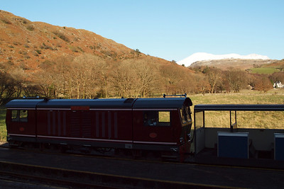 Douglas Ferreira in the shadows at Dalegarth. 18/12/11.