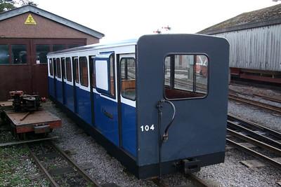 Saloon Brake 104, freshly repainted, 09/02/08.