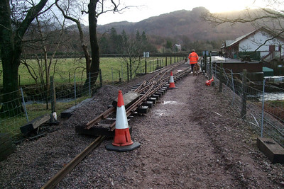 Relaying at Dalegarth, 17/01/09.