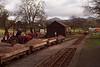Permanent way trains at Irton Road. 22/01/12.