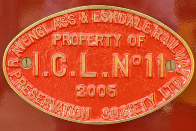 ICL no. 11, plaque on Douglas Ferreira, 01/07/06.
