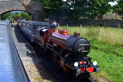 River Mite at Irton Road, 14/07/09.