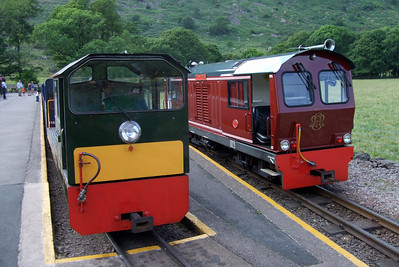 Douglas Ferreira alongside Lady Wakefield at Dalegarth, 02/07/09.