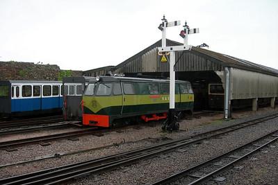 Shelagh of Eskdale, station pilot at Ravenglass, 15/05/06.