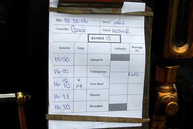 Typical RANDER board, 18/05/06.