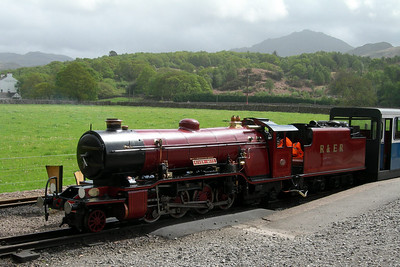 River Mite at Dalegarth under Harter Fell, 18/05/06.
