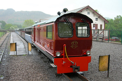 Douglas Ferreira at a rainy Dalegarth, 29/05/06.