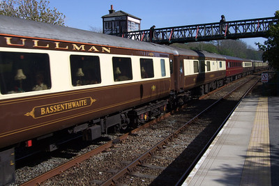Bassenthwaite and five other of the Lakeland Pullman mk. 2s made up the Railtourer rake, 02/05/09.