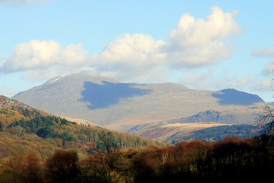 Scafell sits at the head of Miterdale, 09/11/09.