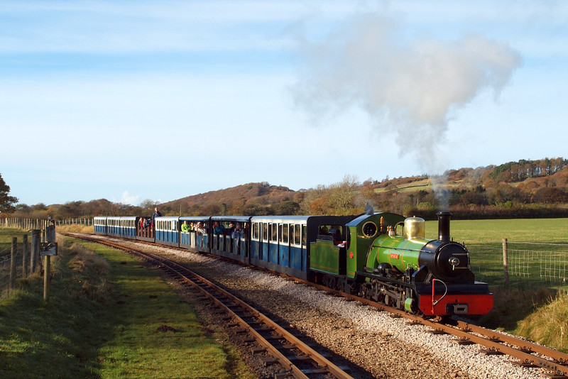 River Irt arrives at Irton Road on Remembrance Sunday, 11/11/12.