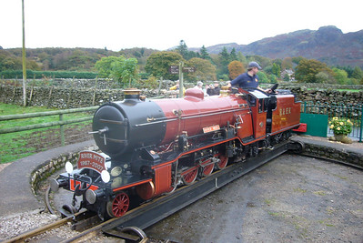 River Mite on Dalegarth turntable, 13/10/07.