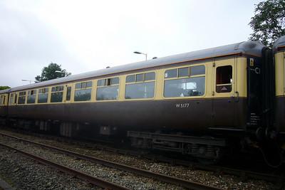 Vintage Trains mk. 2 TSO at Ravenglass, 13/10/07.