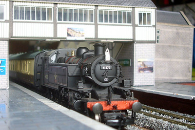 The model railway exhibition which was on display at Ravenglass during the Thomas event, 07/10/07.