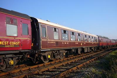 """99993, """"LMS Club Car"""", owned by RailFilms/Statesman Rail, 20/10/07."""