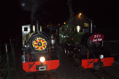 Autumn night at Dalegarth, with Northern Rock and River Irt in attendance. 08/10/11.
