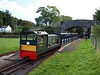 Lady Wakefield sits at Irton Road with a down train, bound for Ravenglass, 21/09/12.